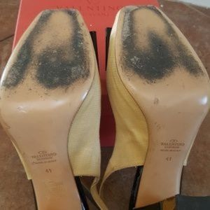 Valentino Shoes - Valentino sling back pumps size 9.5